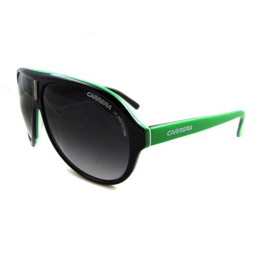 b54300b684 Buy Carrera carrera38 8y9 Black and Green Carrera 38 Aviator ...