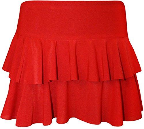 afddb8dc12392 Buy Click Selfie ® New Ladies Club Wear Mini Rara Skirts 8-14